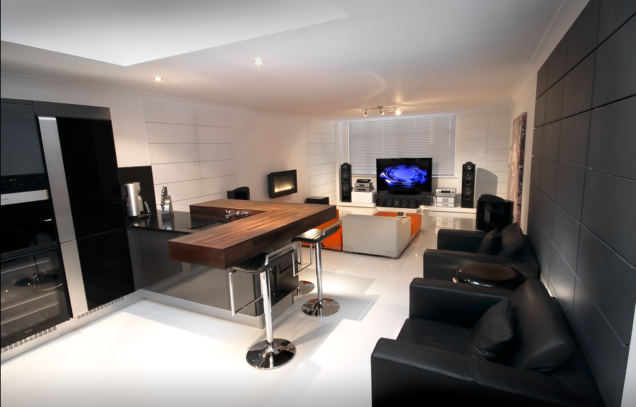 Home Office Entertainment Room Designs