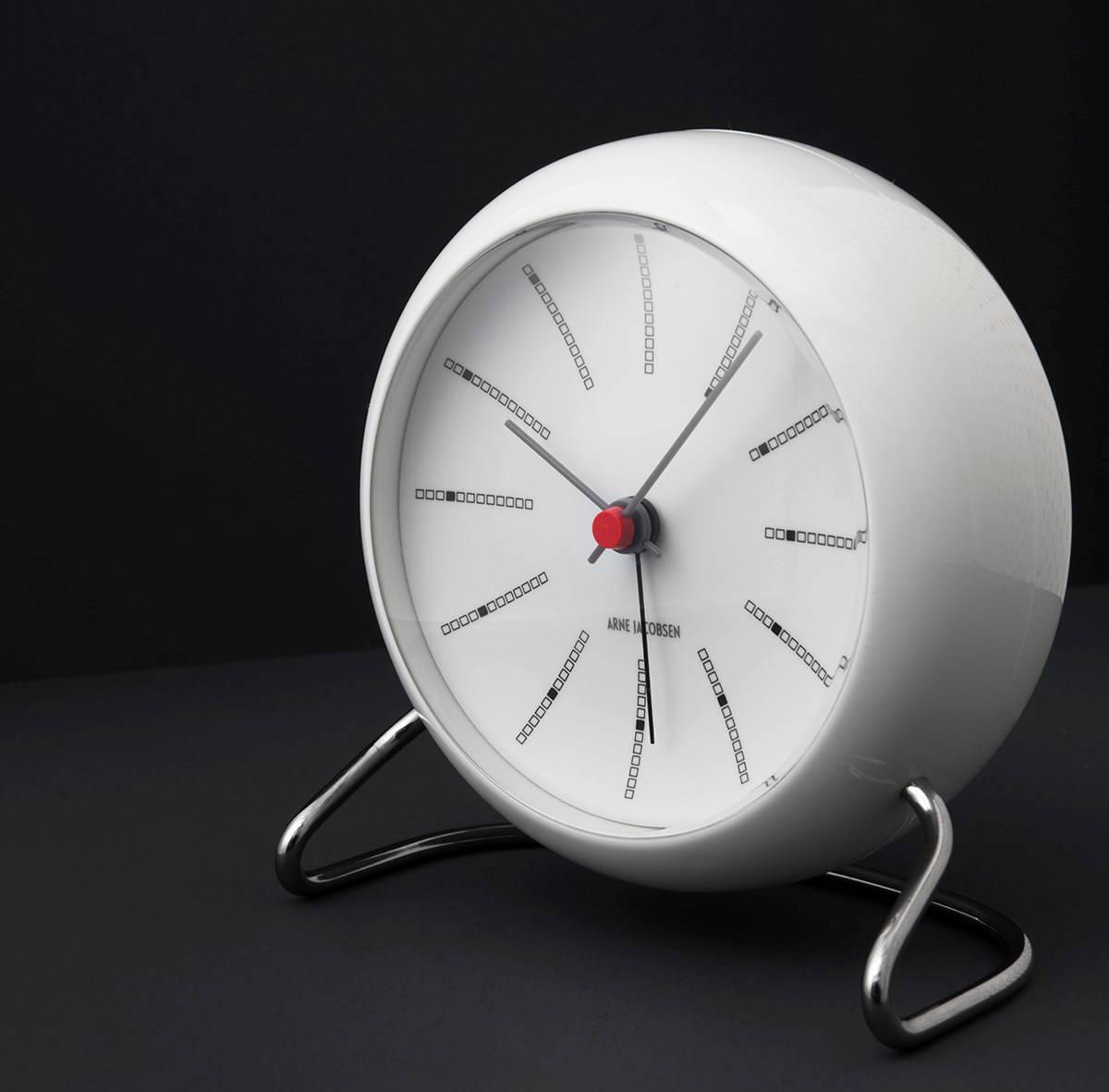 Arne-Jacobsen-Bankers-Table-Clock-White-Mid-Century-Modern-Decor