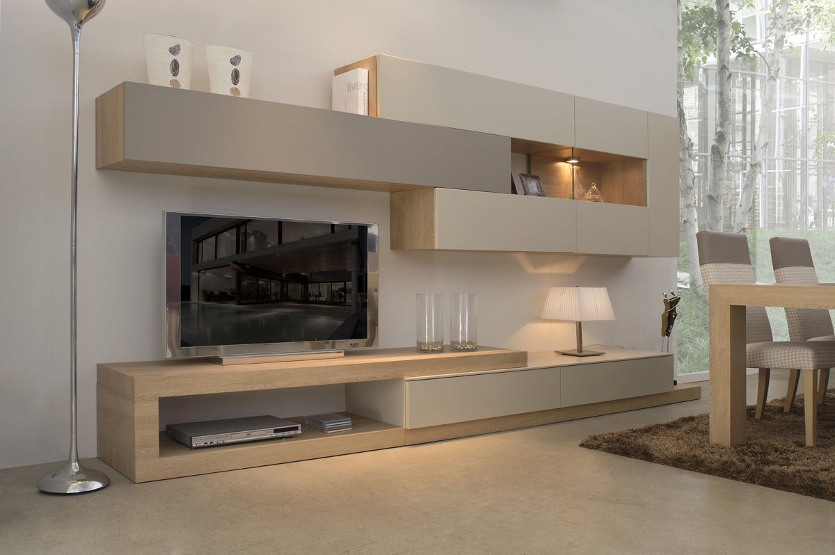 Beige-console-units