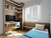 Bespoke-kids-desk-with-shelves