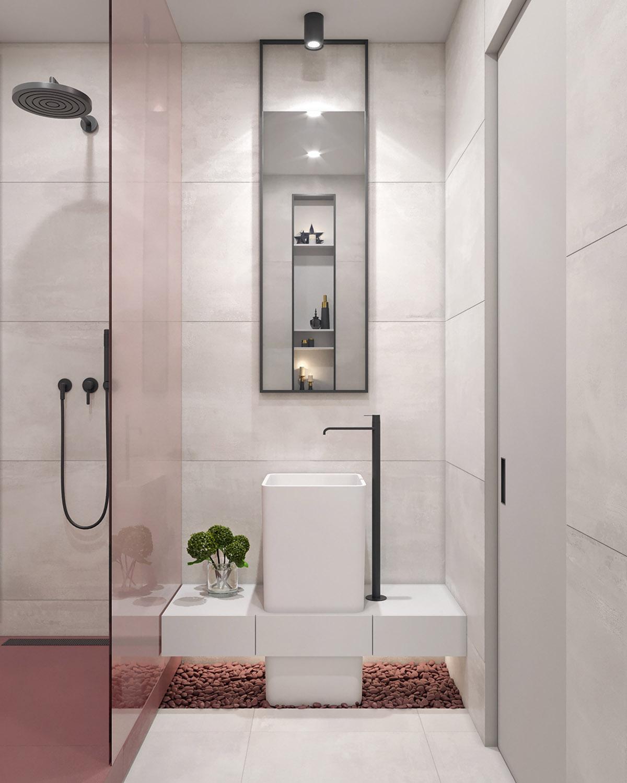 Black-bathroom-tap