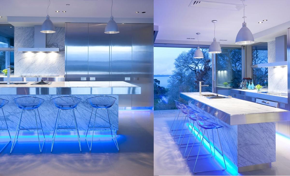 Blue-LED-lights