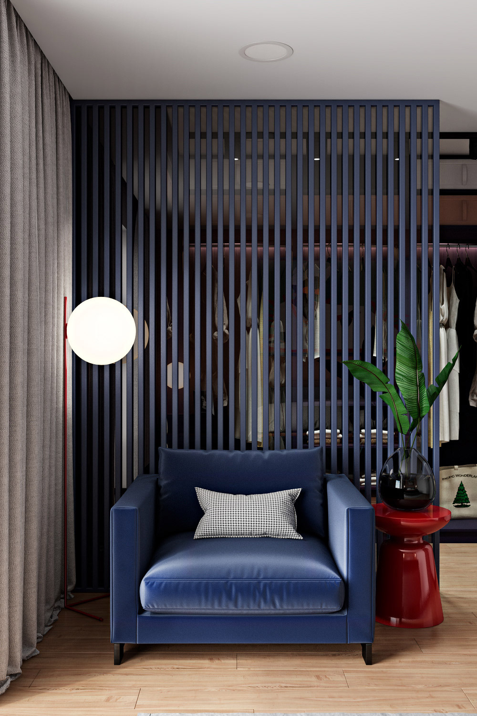 Blue-bedroom-chair