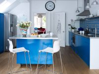 Blue-gloss-kitchen