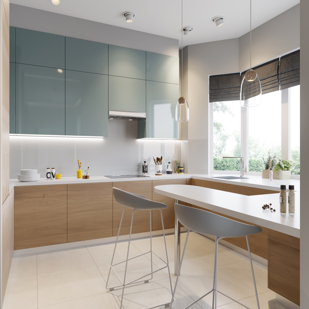 Blue-grey-kitchen