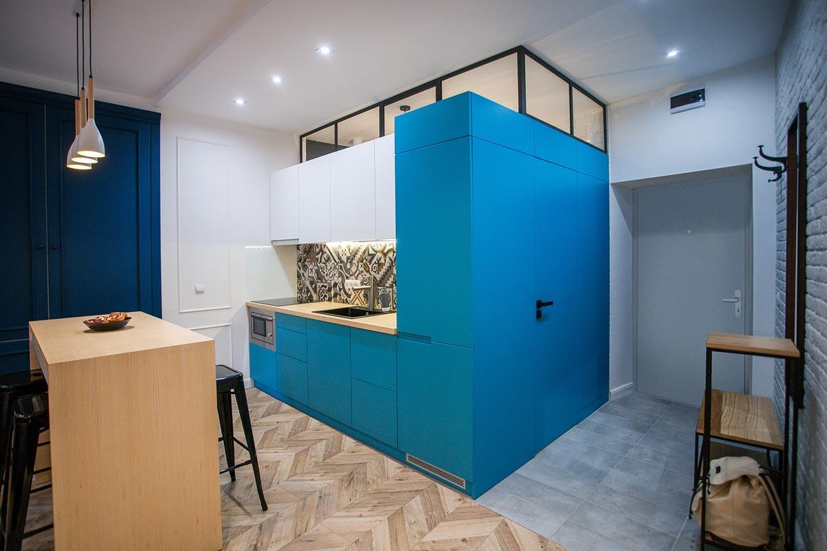 Blue-white-kitchen