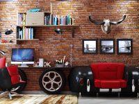 Car-themed-kids-room