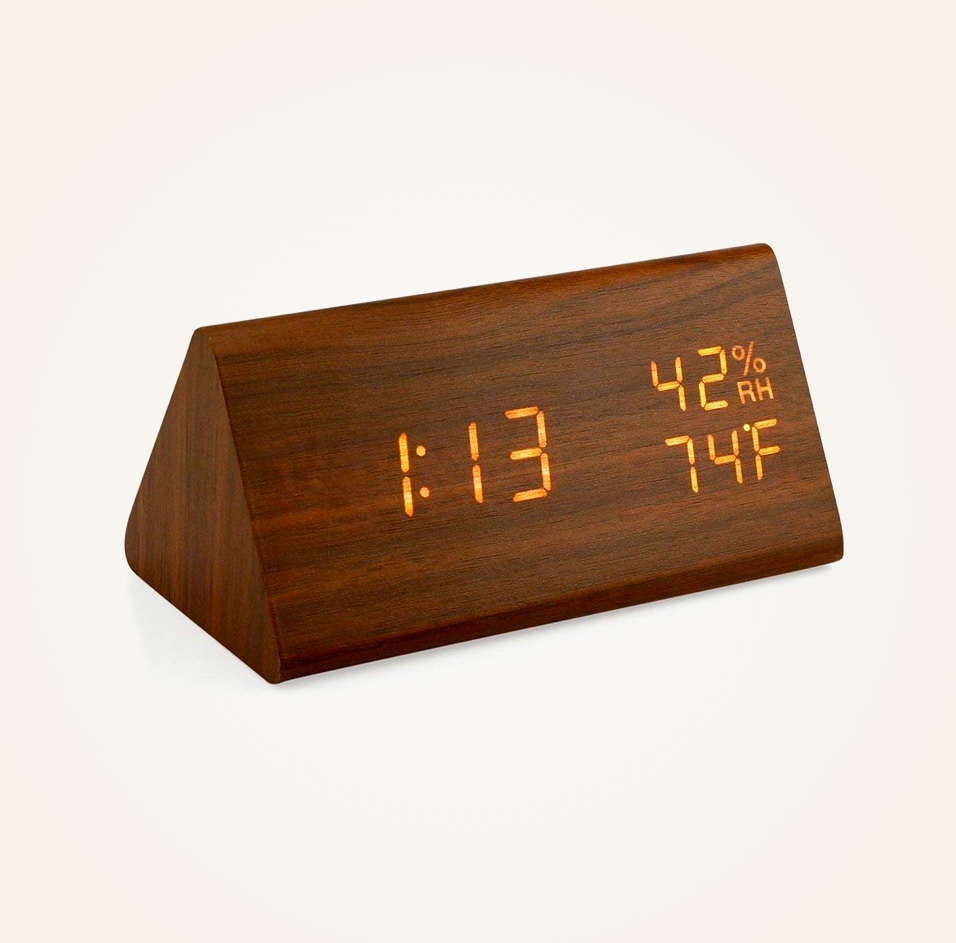 Cheap-Mid-Century-Modern-Decor-Wooden-Desk-Alarm-Clock ...