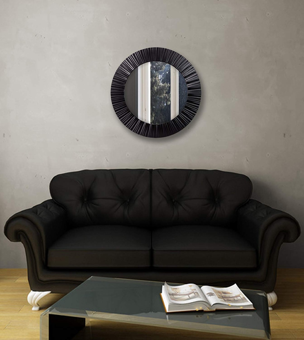 Cheap-Round-Black-Mirror-For-Wall-Circle-Decorative-Mirror-Plastic