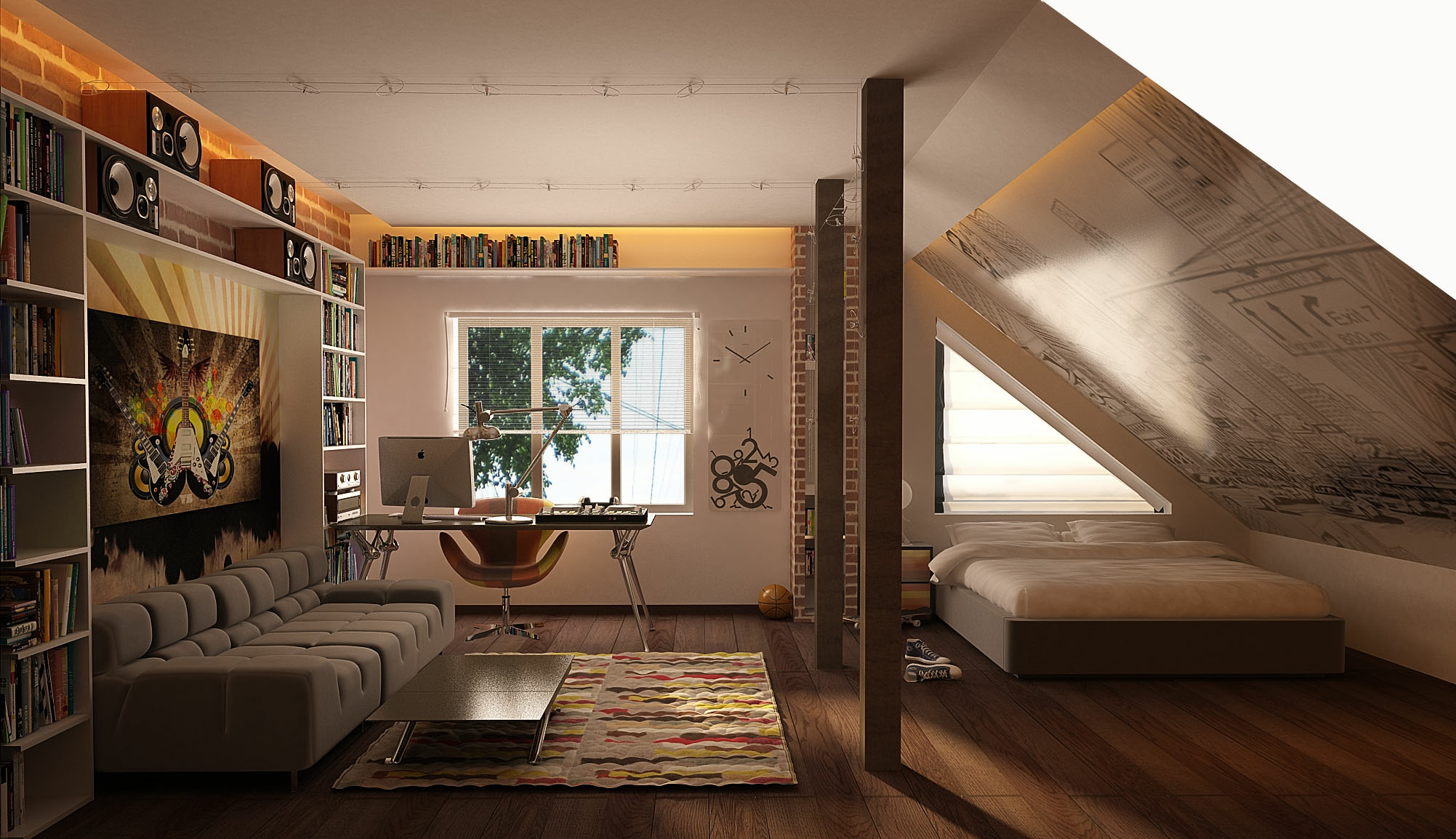 Cool-teenage-attic-room-1