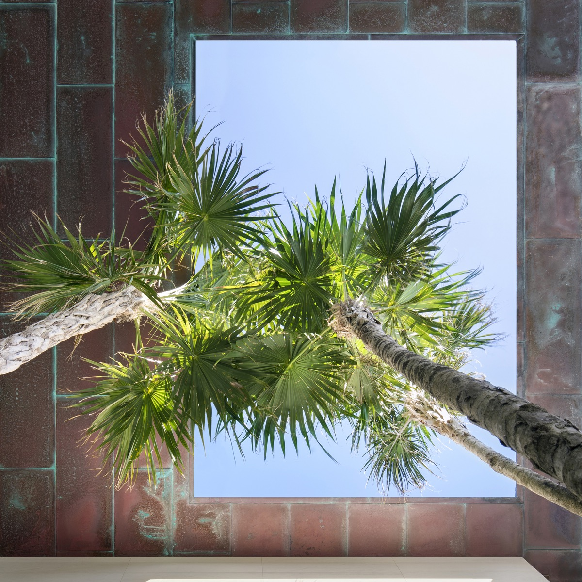 Courtyard-skylight