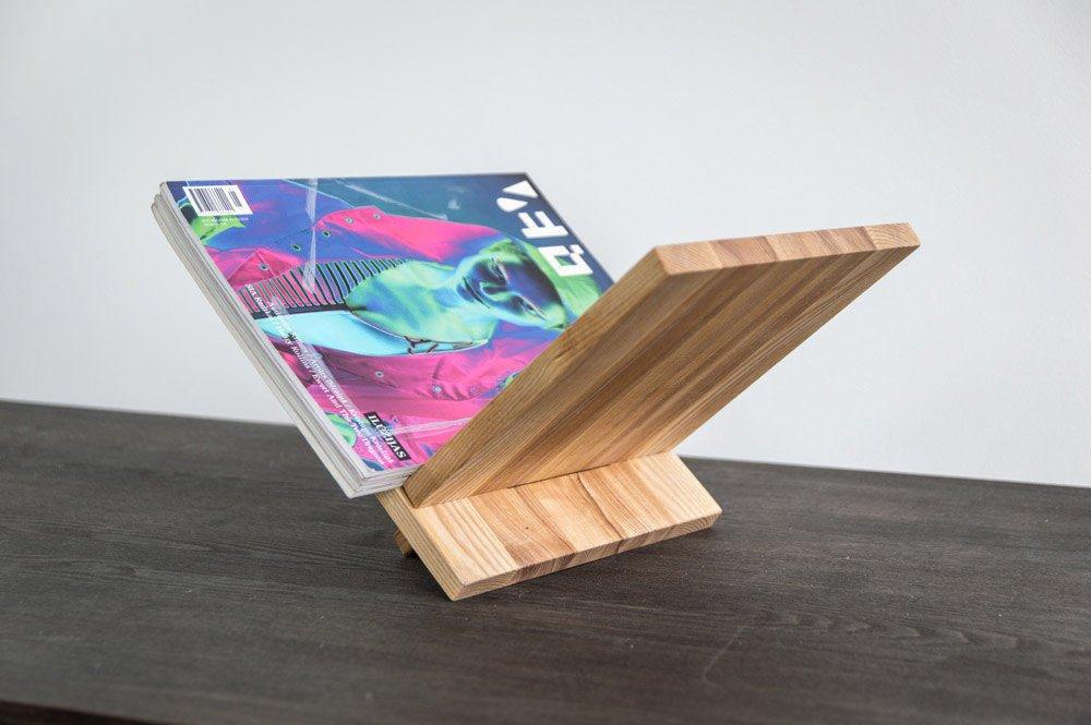 Free-Standing-Wooden-Magazine-Rack-Minimalist-Scandinavian-Handmade-Pine