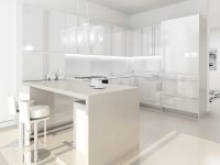 Glamourous-modern-kitchen-white-lacquer-everything