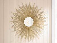 Gold-Mid-Century-Style-Sunburst-Mirror-Starburst-Round-Mirror-For-Wall