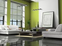 Green-Color-for-Living-Room