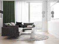 Green-drapes
