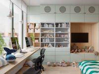 Green-kids-room