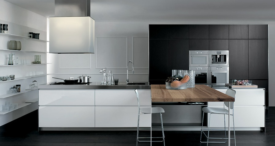 Grey-ans-White-With-a-Wooden-Element