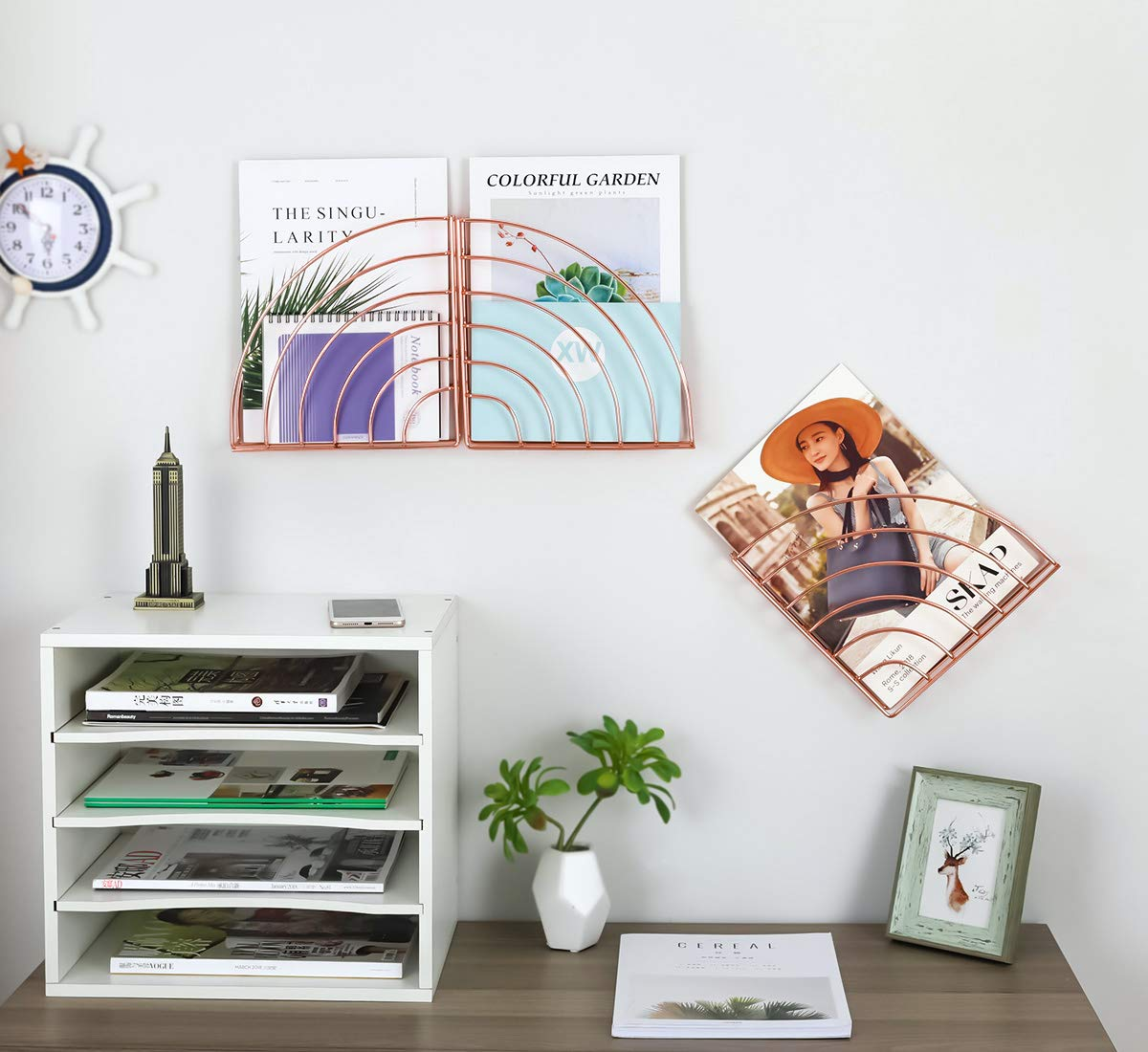 Hanging-Magazine-Racks-Copper-Wall-Mountable-Cheap-File-Holder-Office