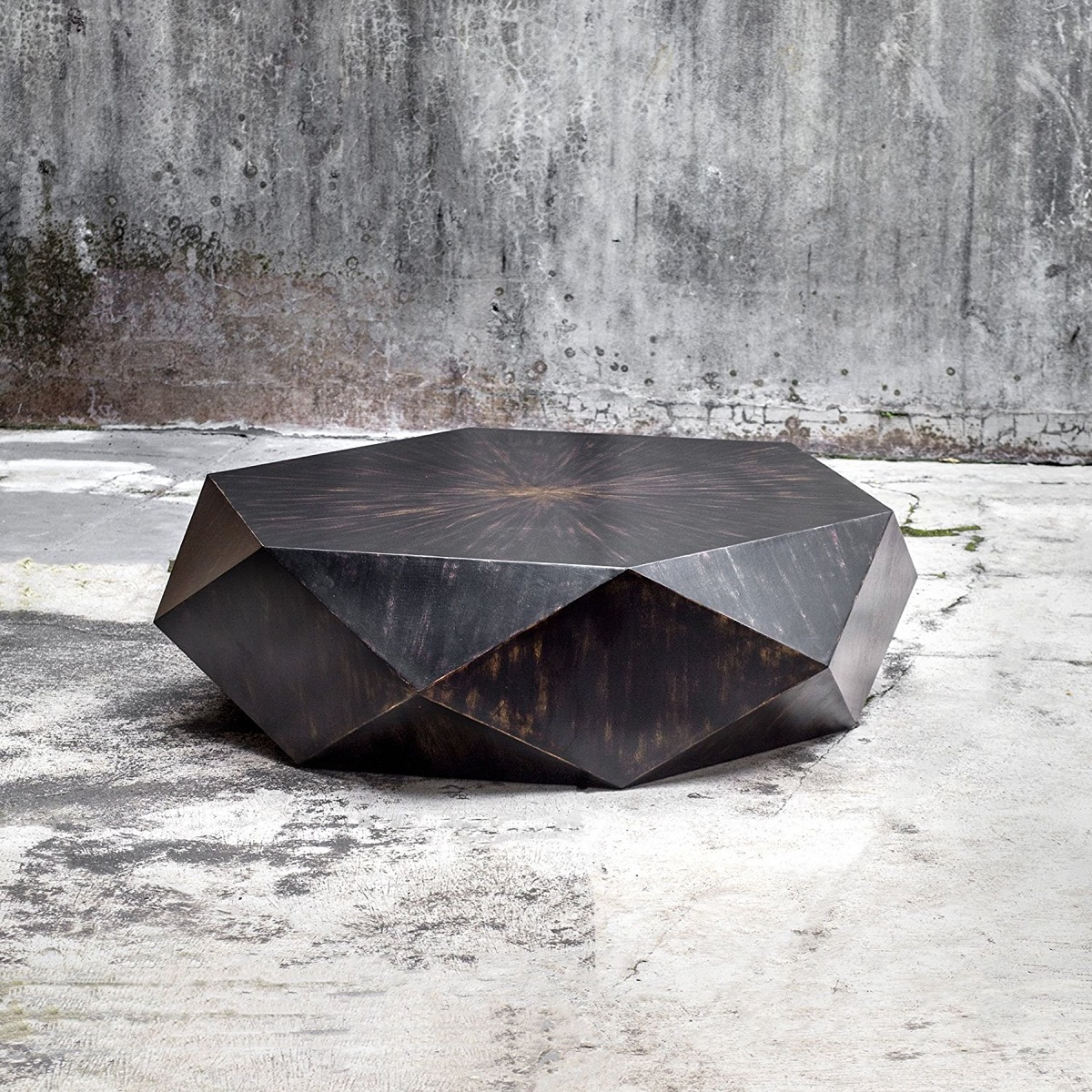 Large-Wooden-Faceted-Geometric-Coffee-Table-in-Espresso