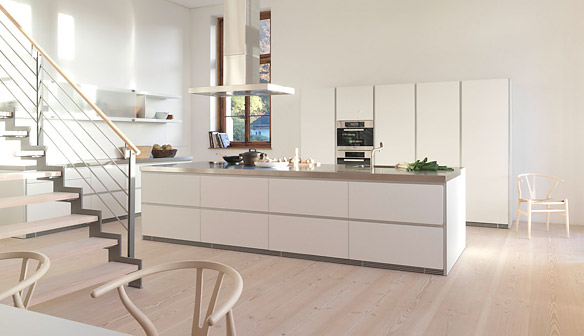 Loft-style-kitchen-birchwood-floors