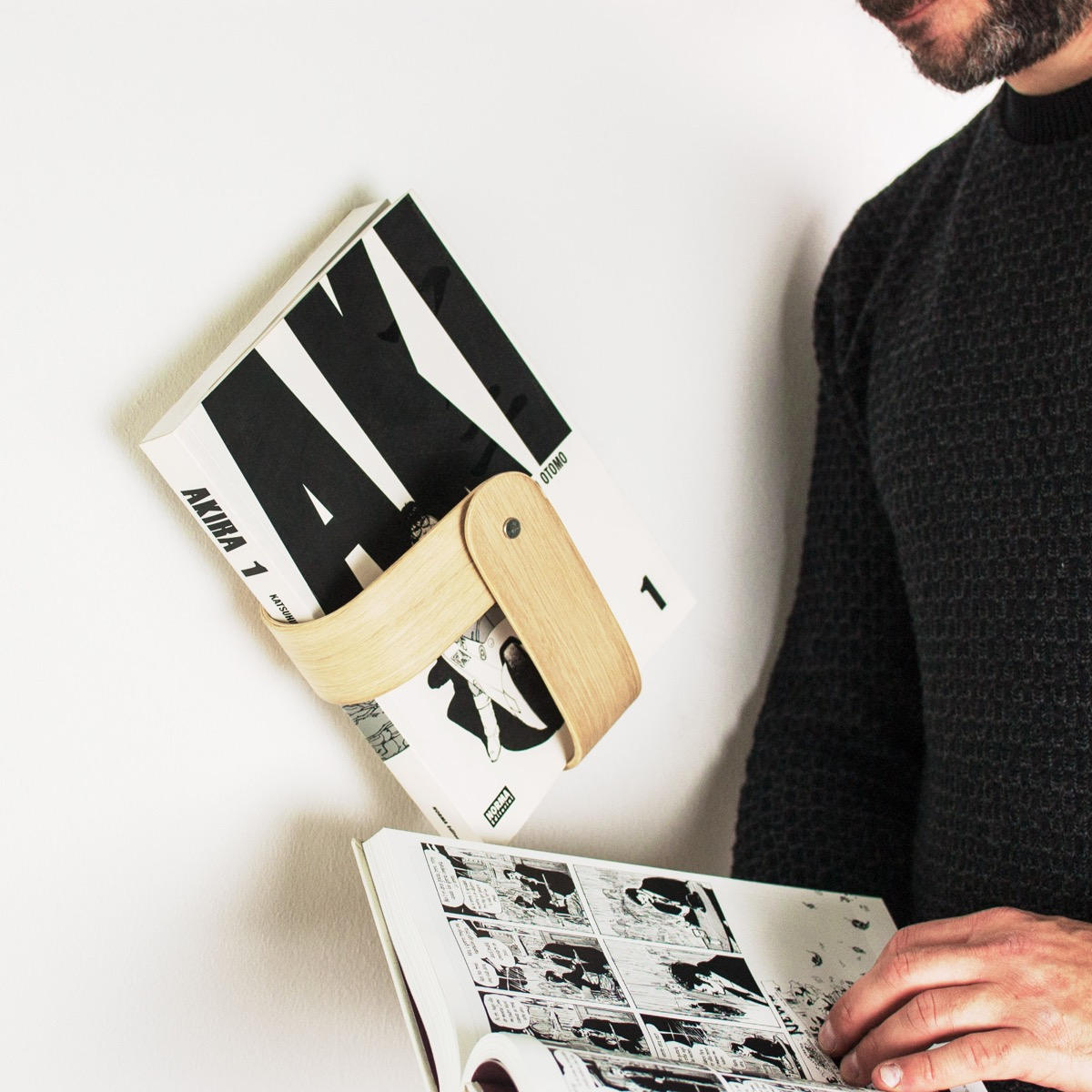 Minimalist-Wall-Hanging-Book-Magazine-Holder-Wood-Portable