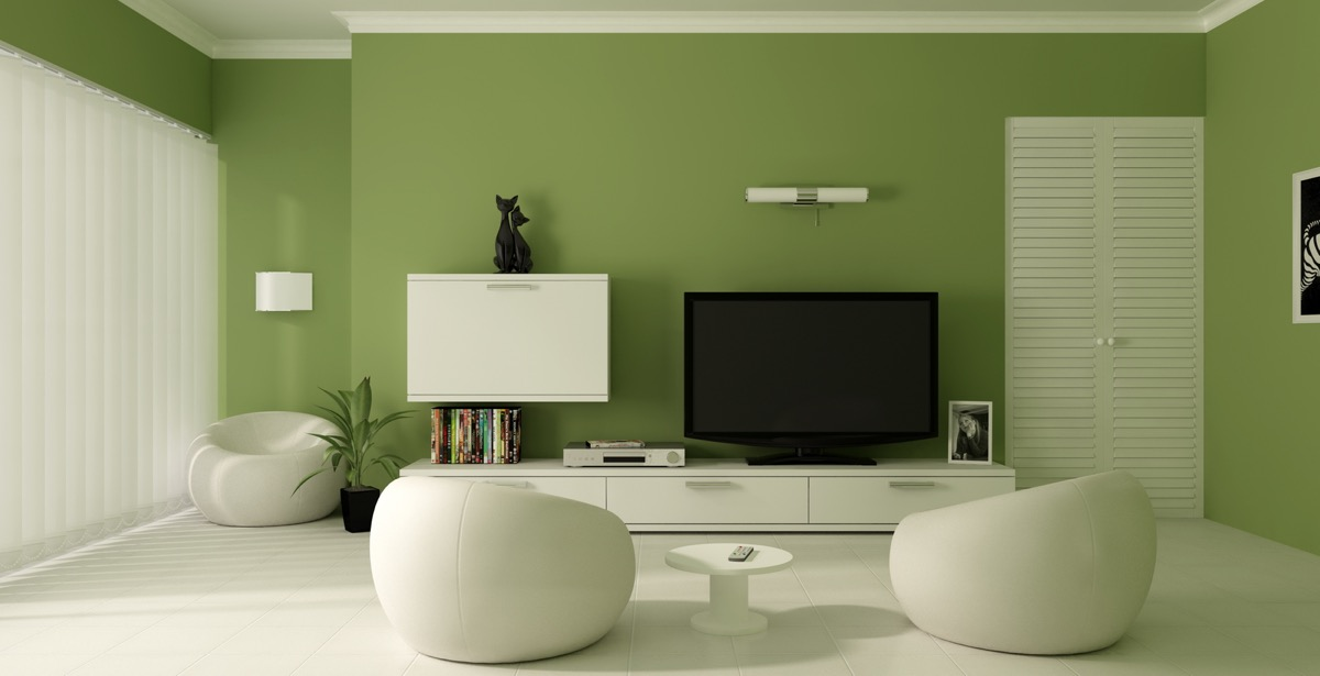 Minimalist-White-and-Green-Living-Room-1