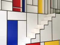 Mondrian-inspired-interior-design