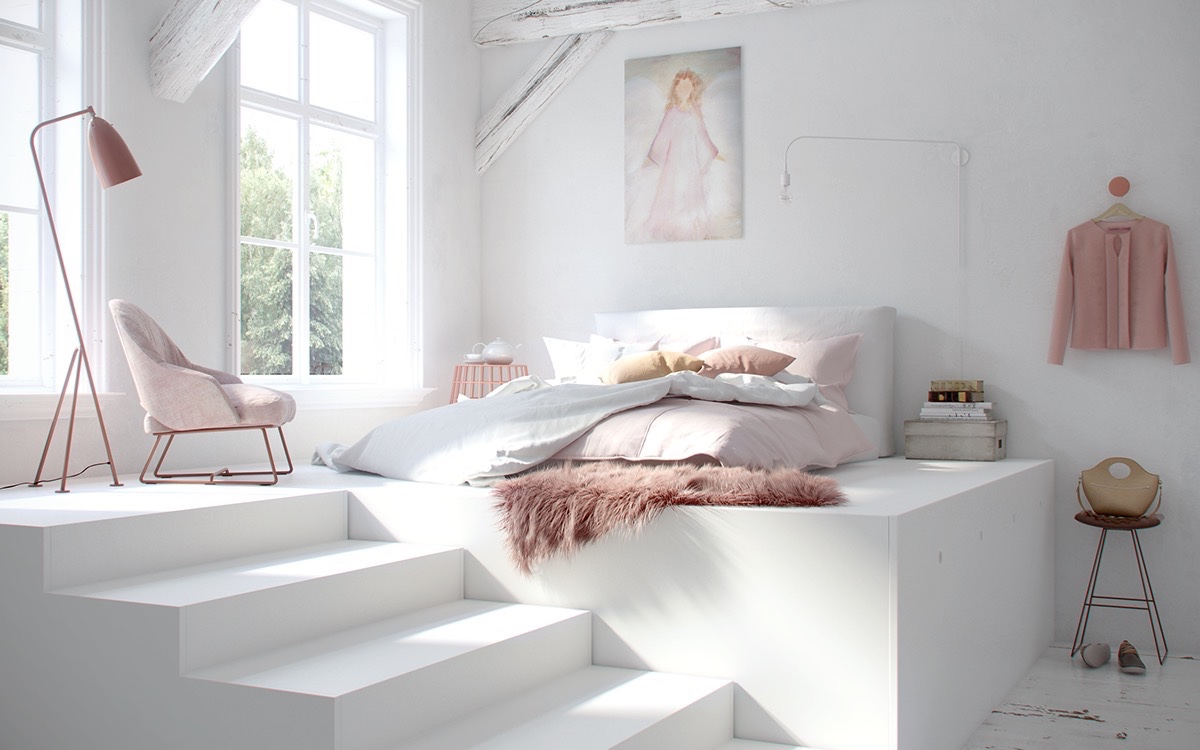 Pink-and-white-cozy-bedroom-1