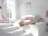 Pink-and-white-cozy-bedroom