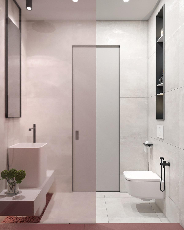 Pink-bathroom
