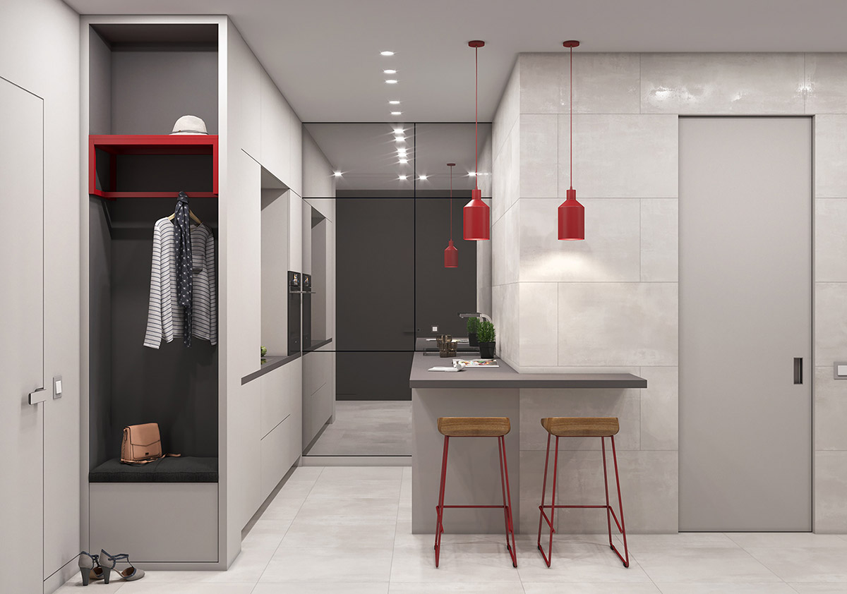 Red-pendant-lights