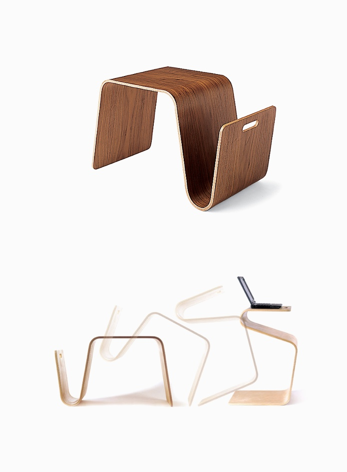 S-Shaped-Side-Table-Magazine-Rack-Laptop-Desk-Paper-Holder-Portable