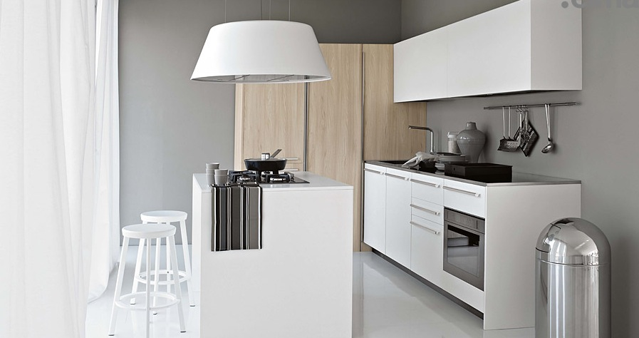 Smaller-White-Kitchen-with-Light-Wood-Elements
