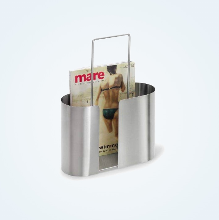 Stainless-Steel-Magazine-Holder-With-Handle-Bathroom-Reading-Accessory