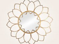 Sunflower-Shaped-Gold-Decorative-Mirror-To-Hang-On-Wall-Gold-Wall-Decor-Modern-Home