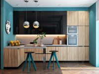 Teal-kitchen-decor