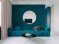 Teal-modern-sofa