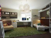 Teenage-bedroom-study