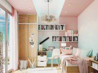 Teenage-bedroom-with-study-area