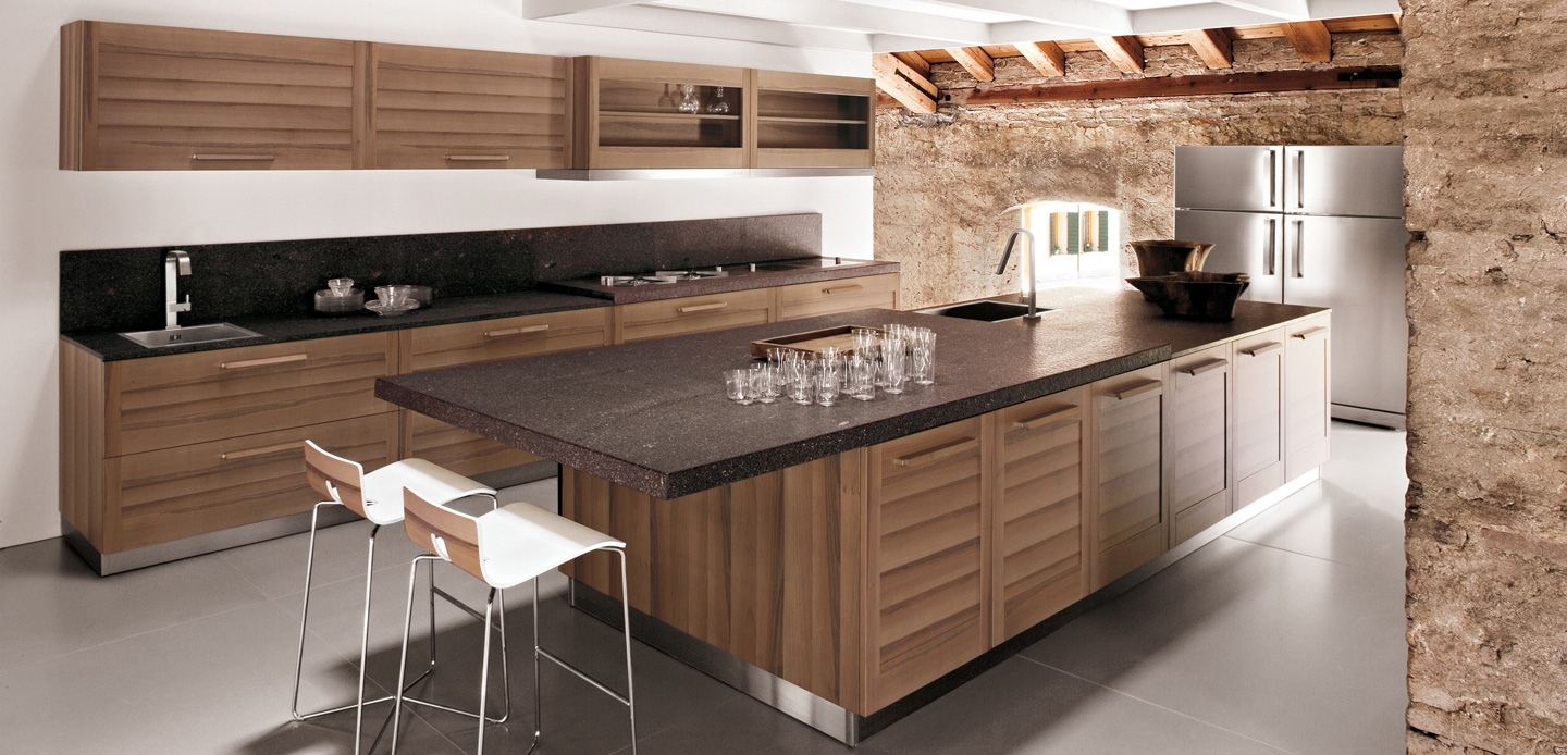Walnut-kitchen-cabinets