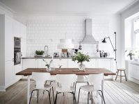 White-Brick-Wall-Ash-Pine-Floor-Kitchen