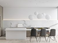 White-Contemporary-Kitchen-with-Marble-1