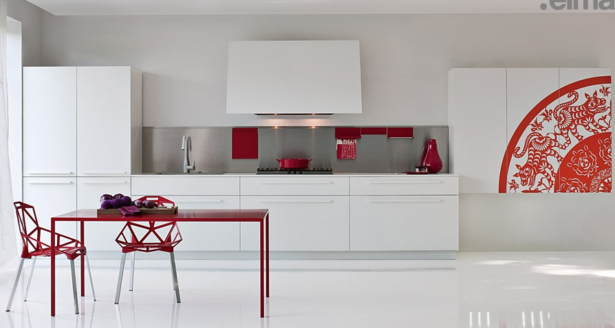 White-With-Red-Pops-of-Colour