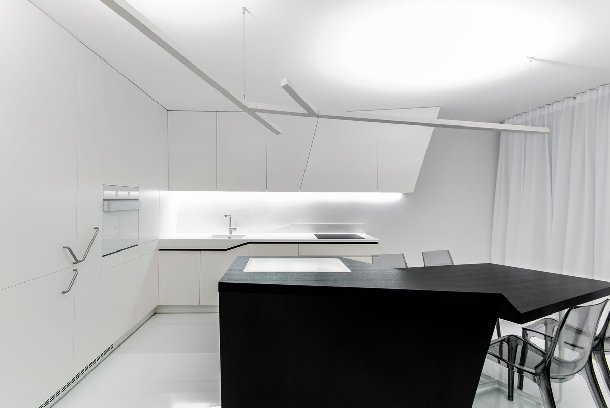 White-and-Black-Futuristic-Kitchen