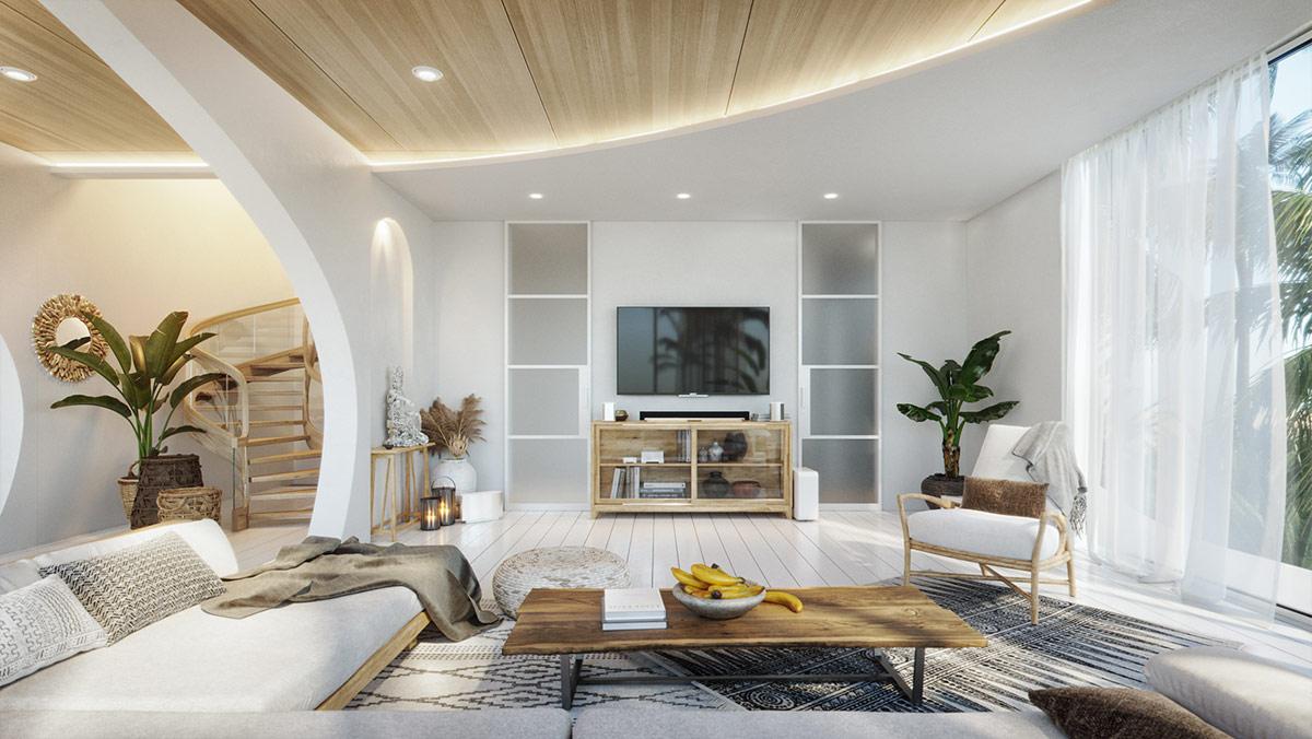 White-living-room-1