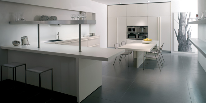 White-minimalist-kitchen-beautiful-lighting