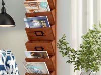 Wooden-Wall-Magazine-Holder-Farmhouse-Mail-Organizer-Wood-Large