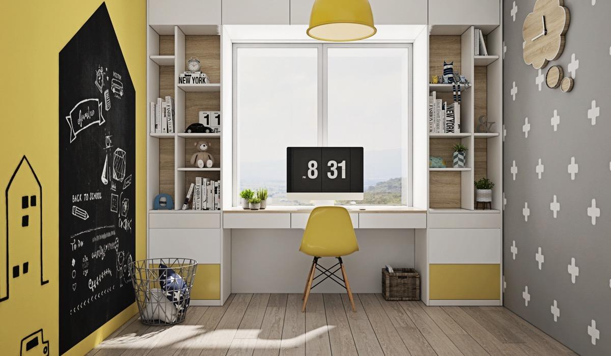 Yellow-kids-study-room-1