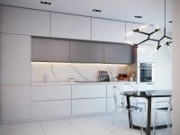 all-white-and-grey-marble-kitchen